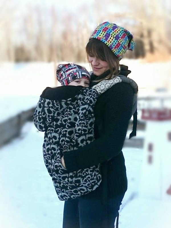 baby carrier cover tutorial