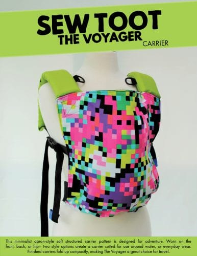 apron style baby carrier sewing pattern
