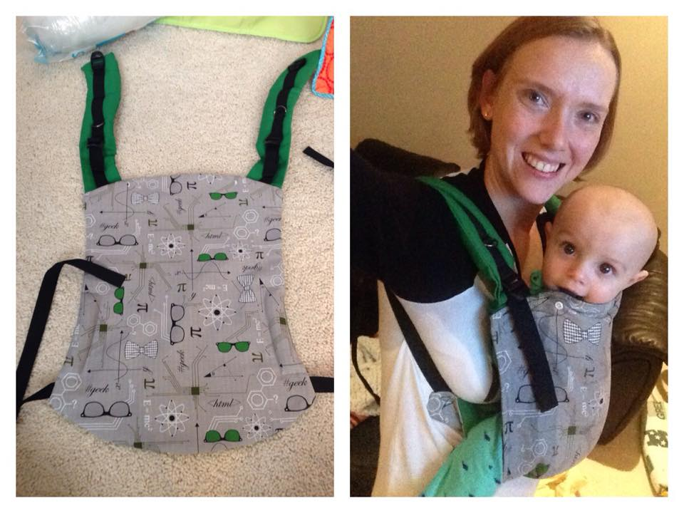 The Riser Buckle Onbuhimo Baby Carrier Pattern