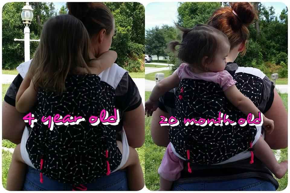 Adjustable Meh Dai Baby Carrier Pattern By Sew Toot