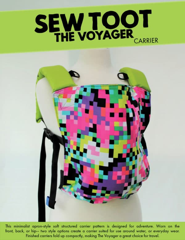 Water Friendly Baby Carrier Sewing Pattern - The Voyager by Sew Toot